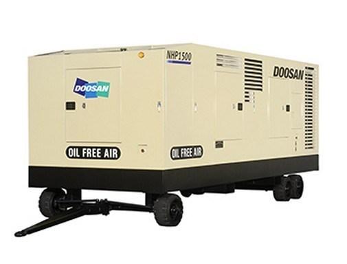 Ingersoll Rand/ Doosan Portable Screw Compressor, Compressor, Oil Free Compressor, Non Lubricated Compressor, Air Compressor (NHP1500WCU)