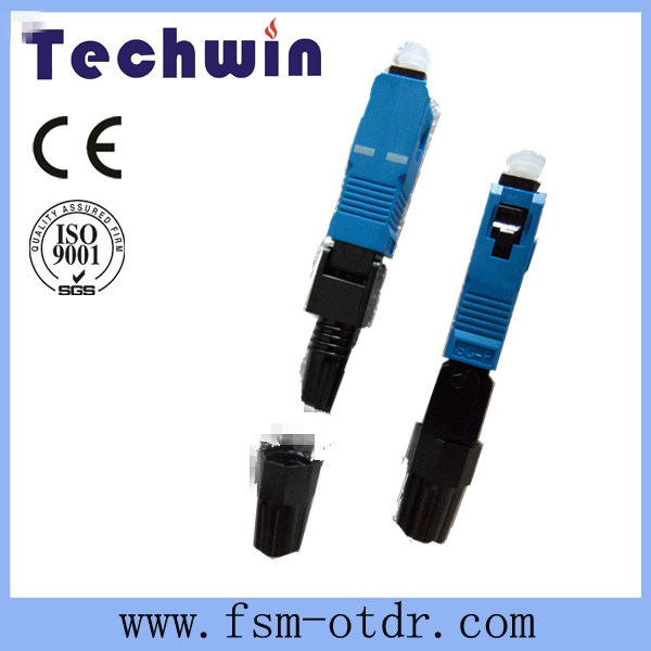 High Quality Pre-Polishing Fiber Optic FTTH Sc Fast Connector