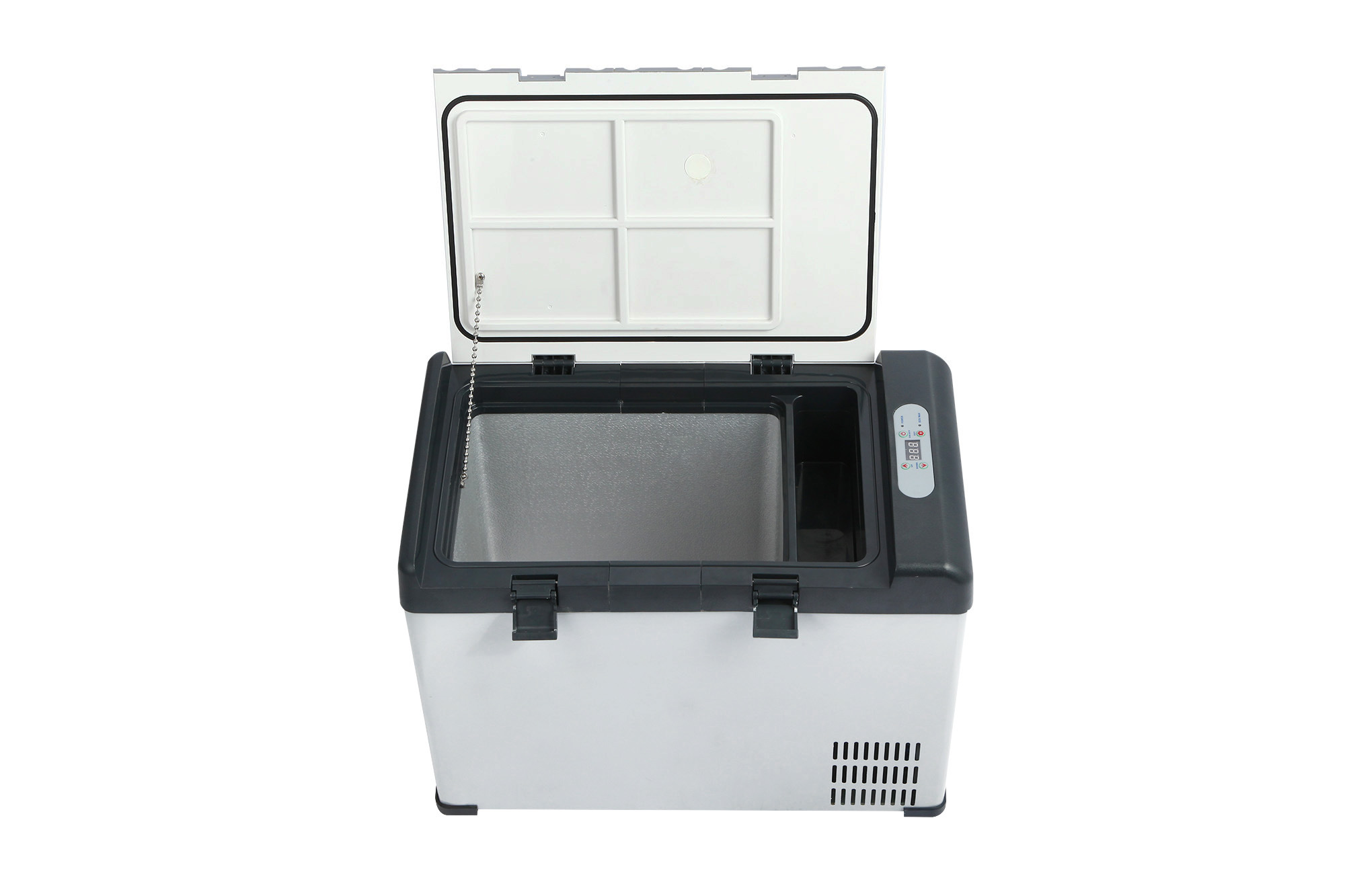 Innovative DC Compressor Refrigerator 42liter DC12/24V with AC Adaptor (100-240V) Both Used in Car or at Home