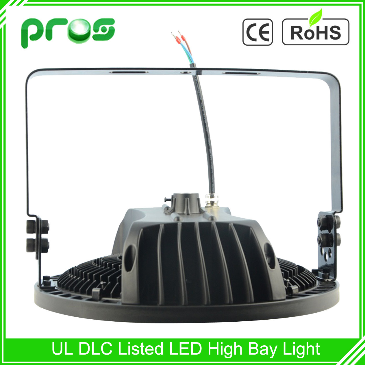 Meanwell Driver IP65 80W LED Project Lamp 100W Industrial LED High Bay Light 180W for Indoor Factory Lighting