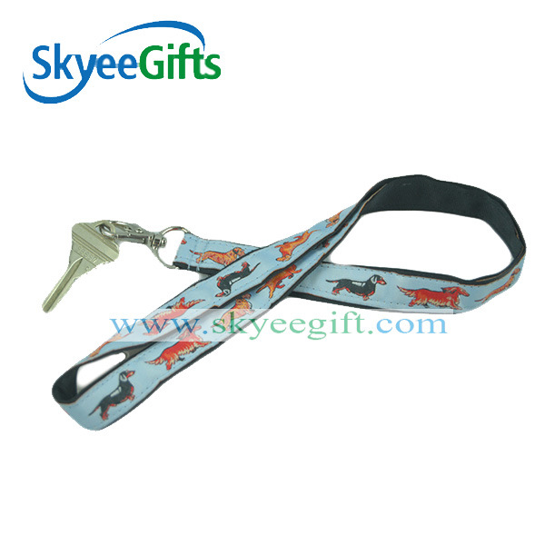 Official Polyester Lanyard with Detachable Buckle