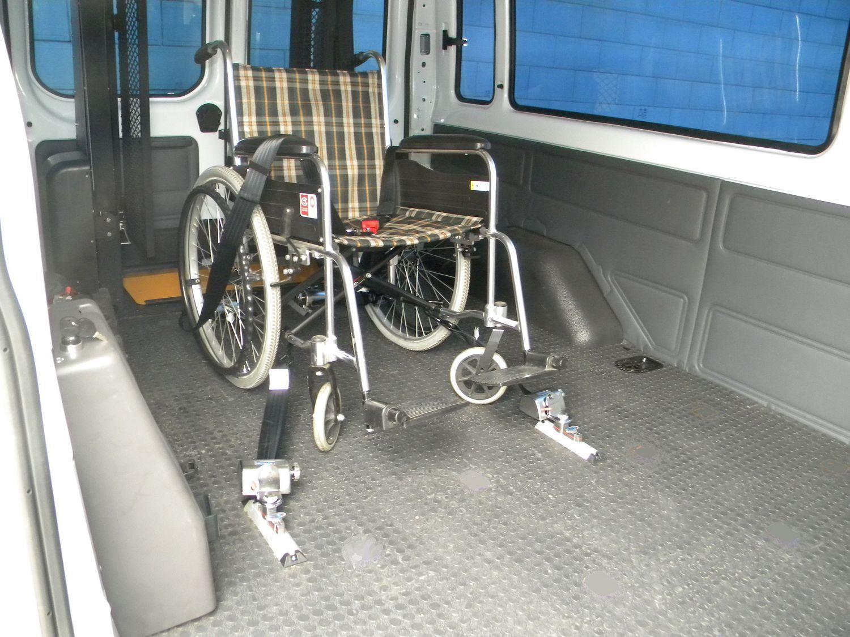 Wheelchair Restraint System, Wheelchair Tie Down System, Wheelchair Locker (X-801-1)