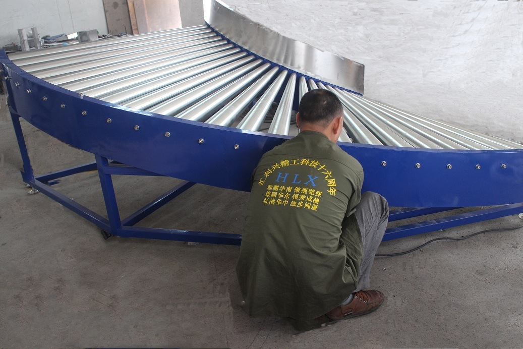 Gravity Roller Conveyor in Conveyor System