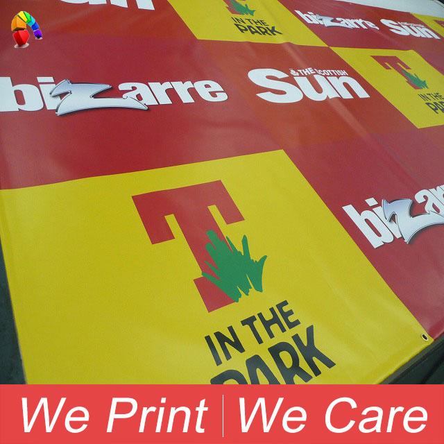 Custom Printing Outdoor Advertising Vinyl PVC Flex Banner