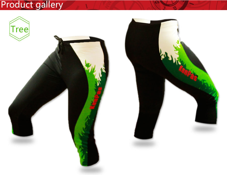 2016 New Professional Orienteering Pants, Compress Tight, 3/4′, Comfortable Material #OTP-01
