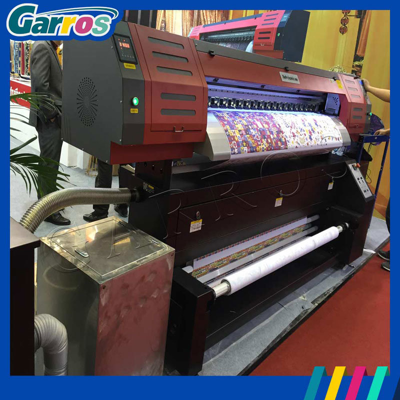 Garros Tx180d Digital Direct to Fabric Textile Flatbed Printer