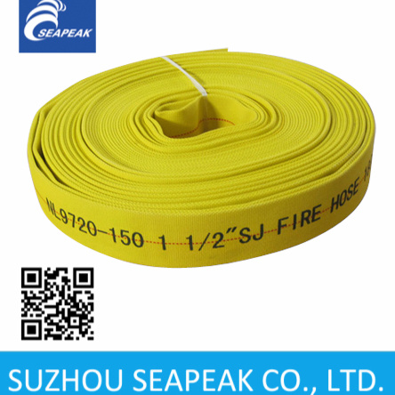 PU Lining Fire Fighting Hose