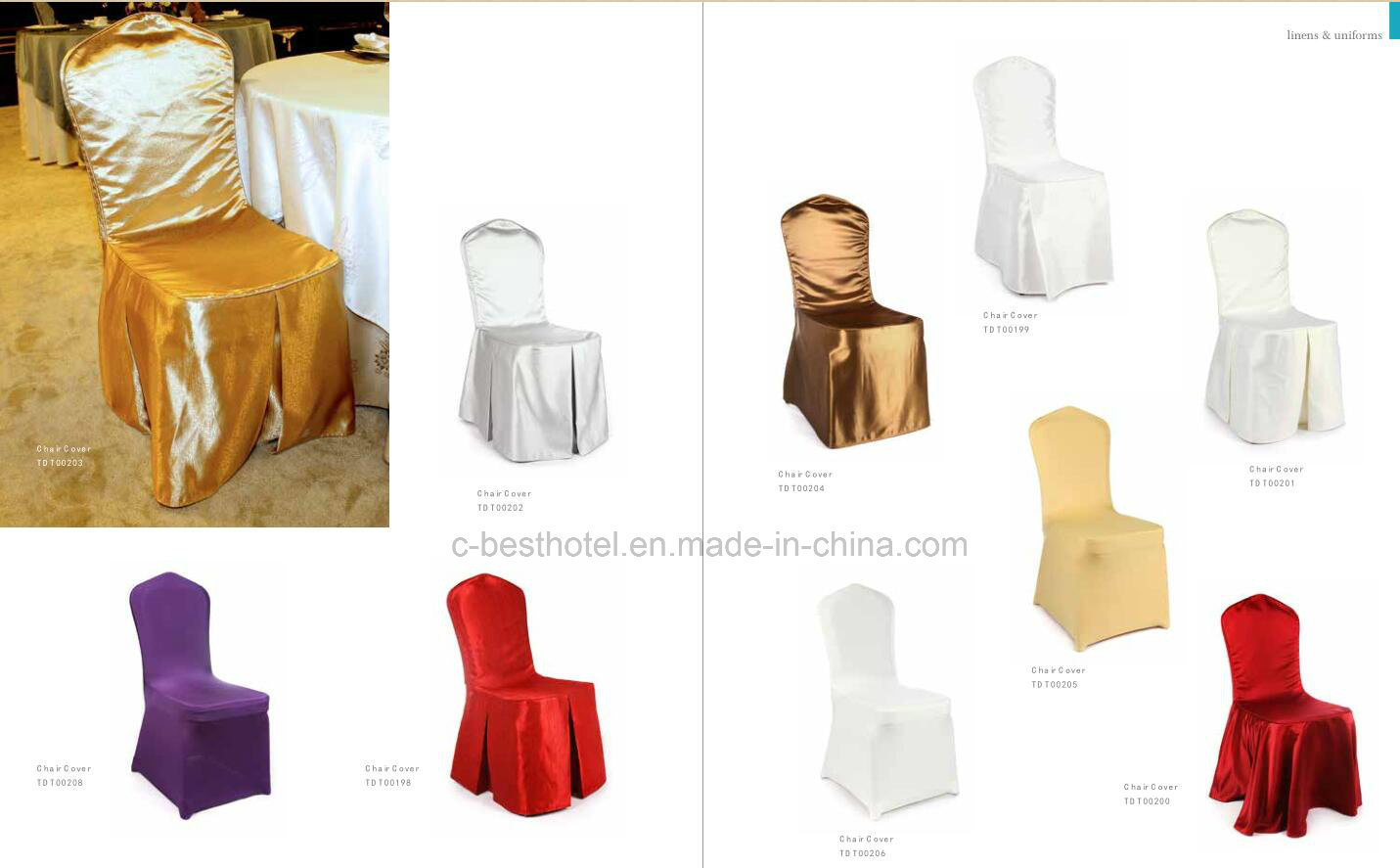 Hotel Restaurant Banquet Chair Cover