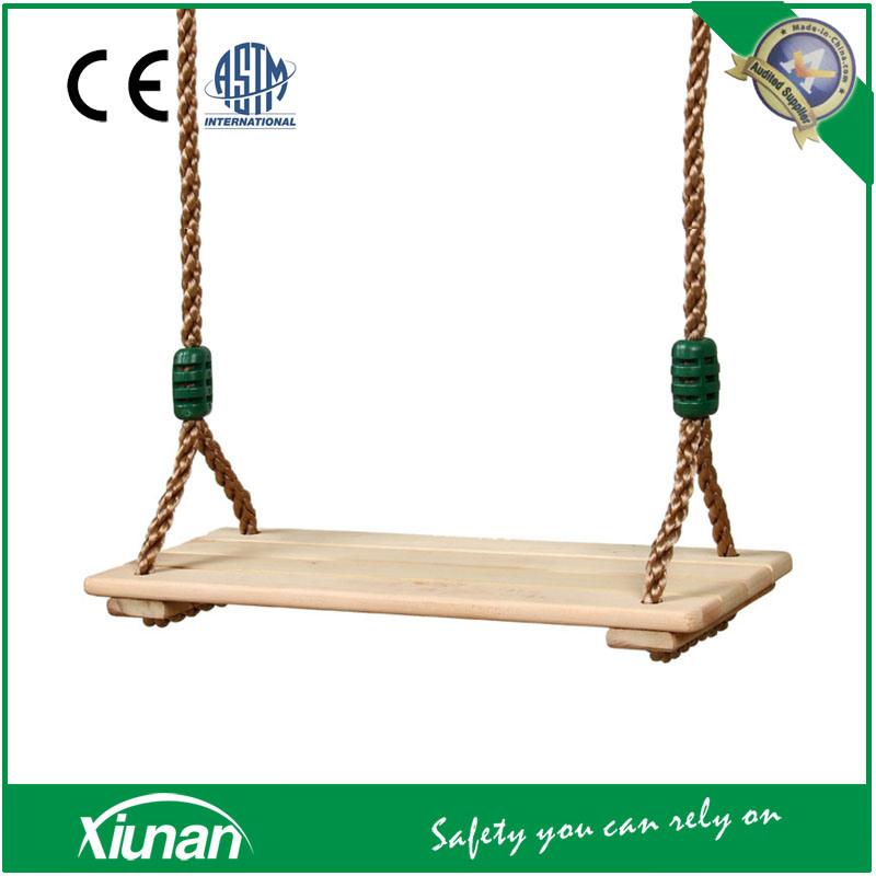 Children Wooden Swing Seat for Outdoor Playground