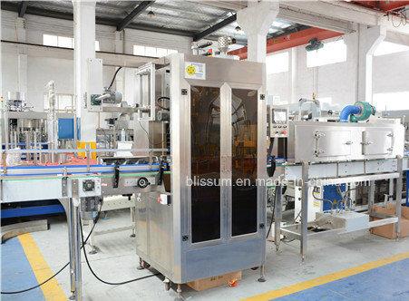 Automatic 6000bph Shrink Sleeve Bottle Labeling Machine
