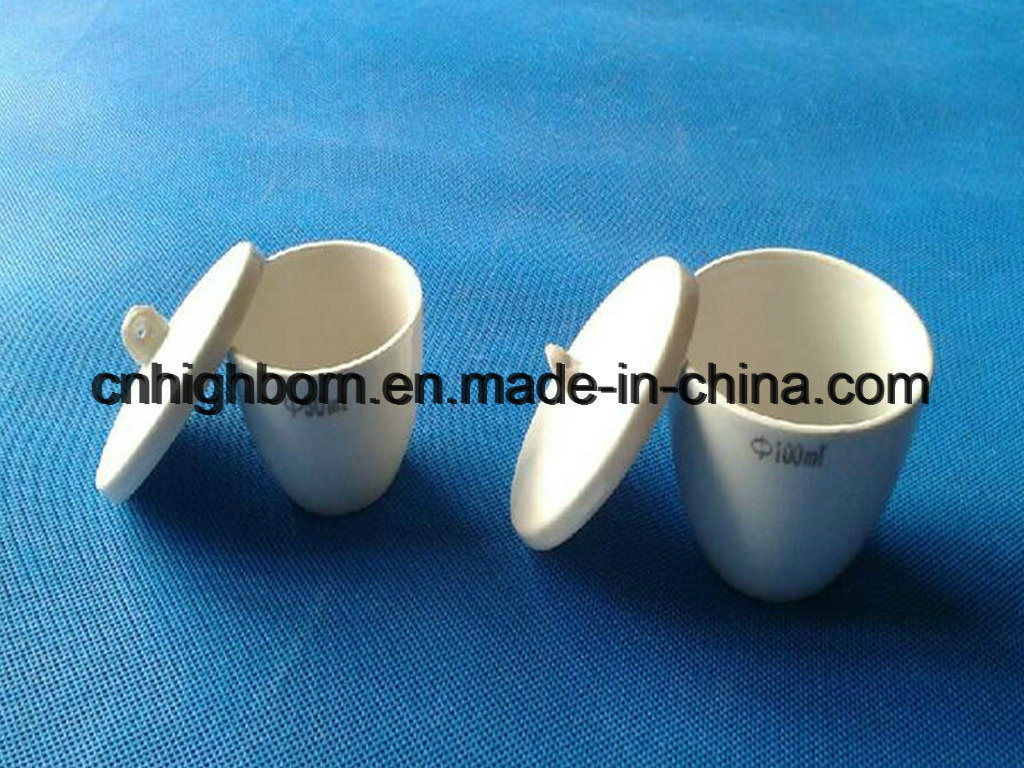 Refractory Porcelain Ceramic Crucible for Laboratory