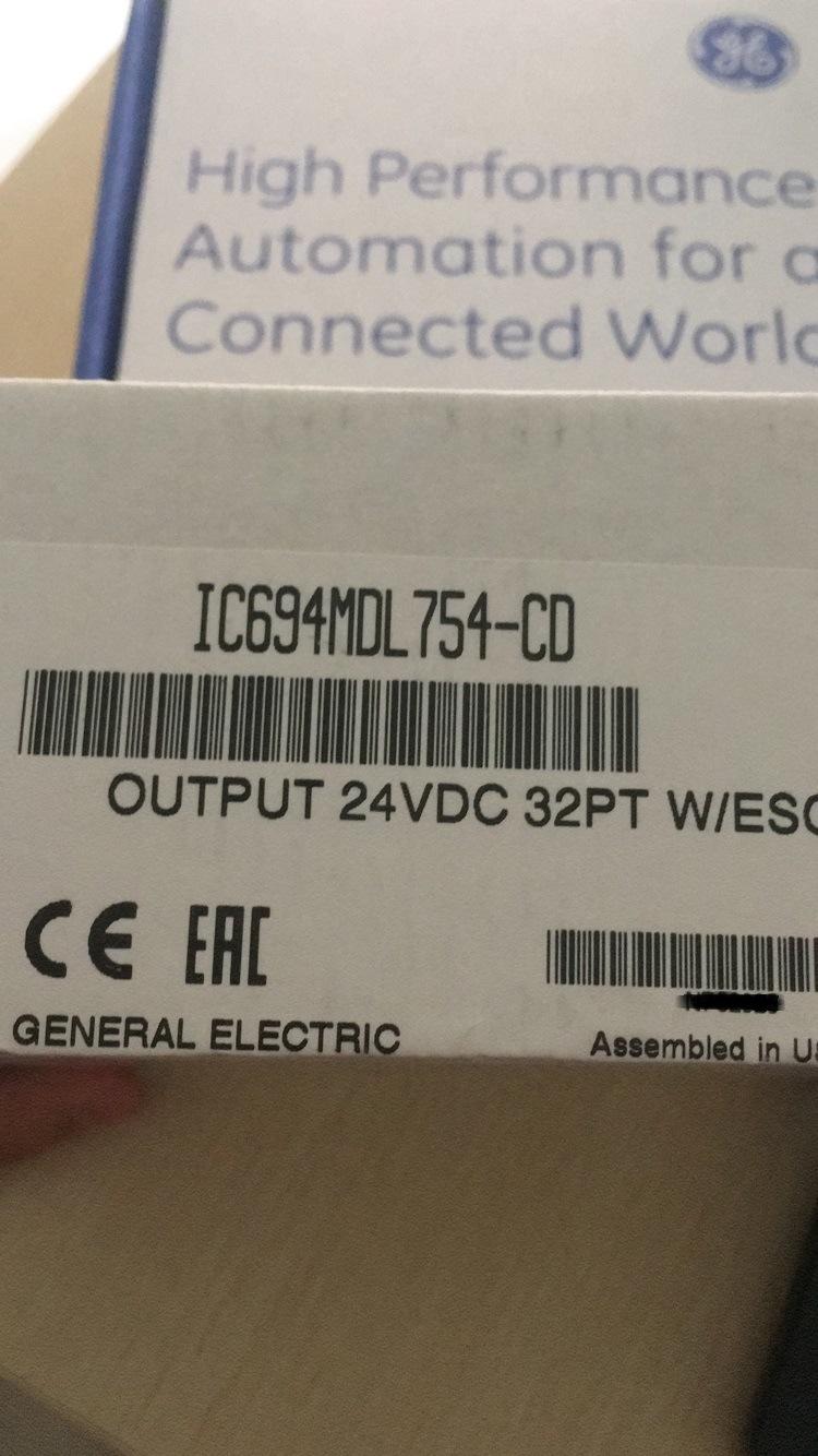 Ge PLC IC694mdl754