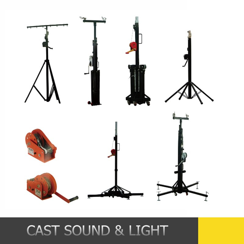 2-6m Steel Crank Stand Heavy Duty Light Stand