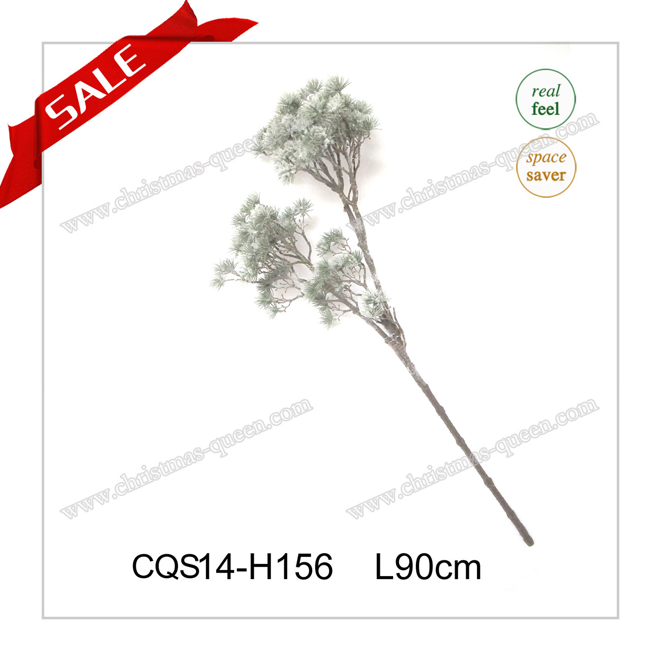 L70cm Plastic Decorative Artificial PE Christmas Flowers