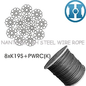 China Anti-Fatigue Steel Wire Rope for Construction 8xk19s-Pwrc ...