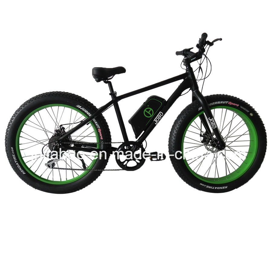 China Fat Tyre Electric Bicycle 26 Inch With Crank Motor Tde00l