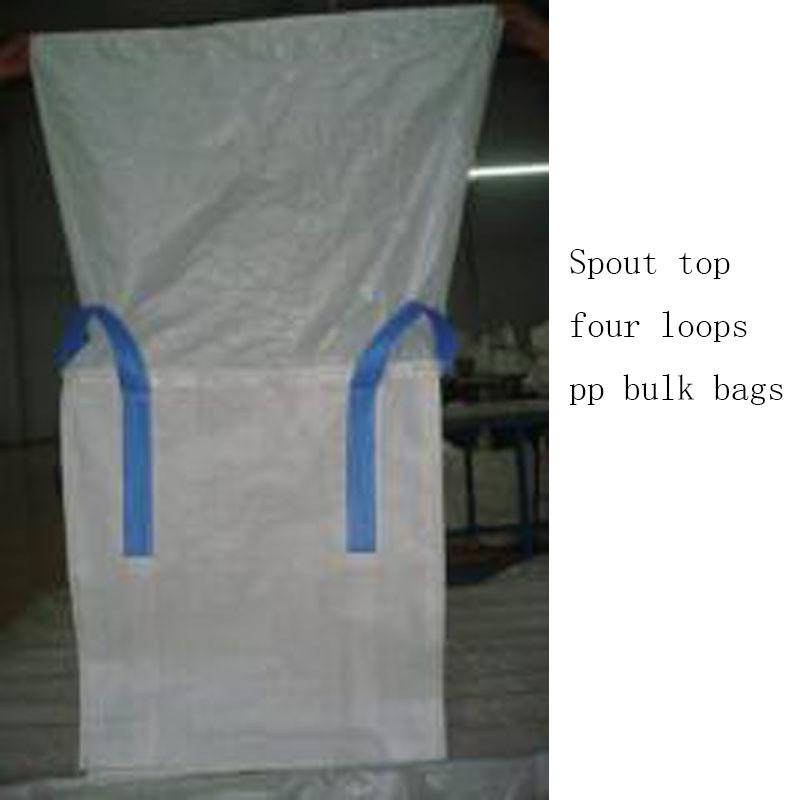 100% Virgin PP Bulk Sacks Export to Mauritania
