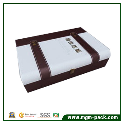Mixed-Color Rectangle Customized Wooden Wine Box