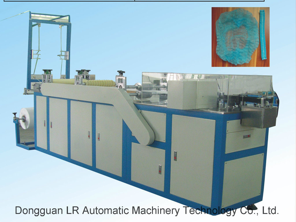 Lr09b Hotel Hospital Disposable Bouffant Cap Making Machine