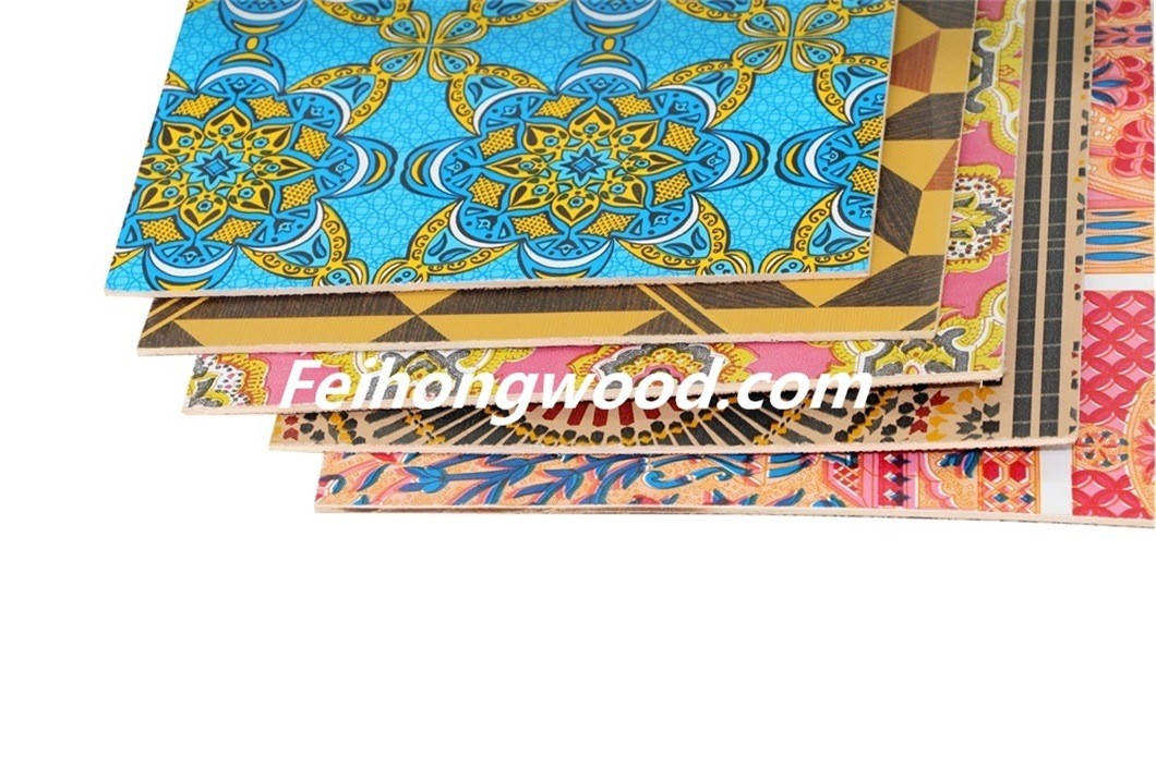 Paper Overlay Plywood for Furniture or Decoration