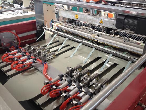 450*2 Plastic T-Shirt Bag Making Machine