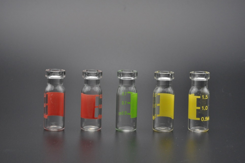 1ml Clear and Amber Tubular Glass Vials