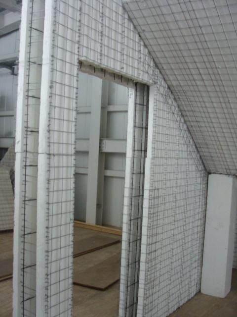 China styrofoam automatic construction building wall for Foam block wall construction