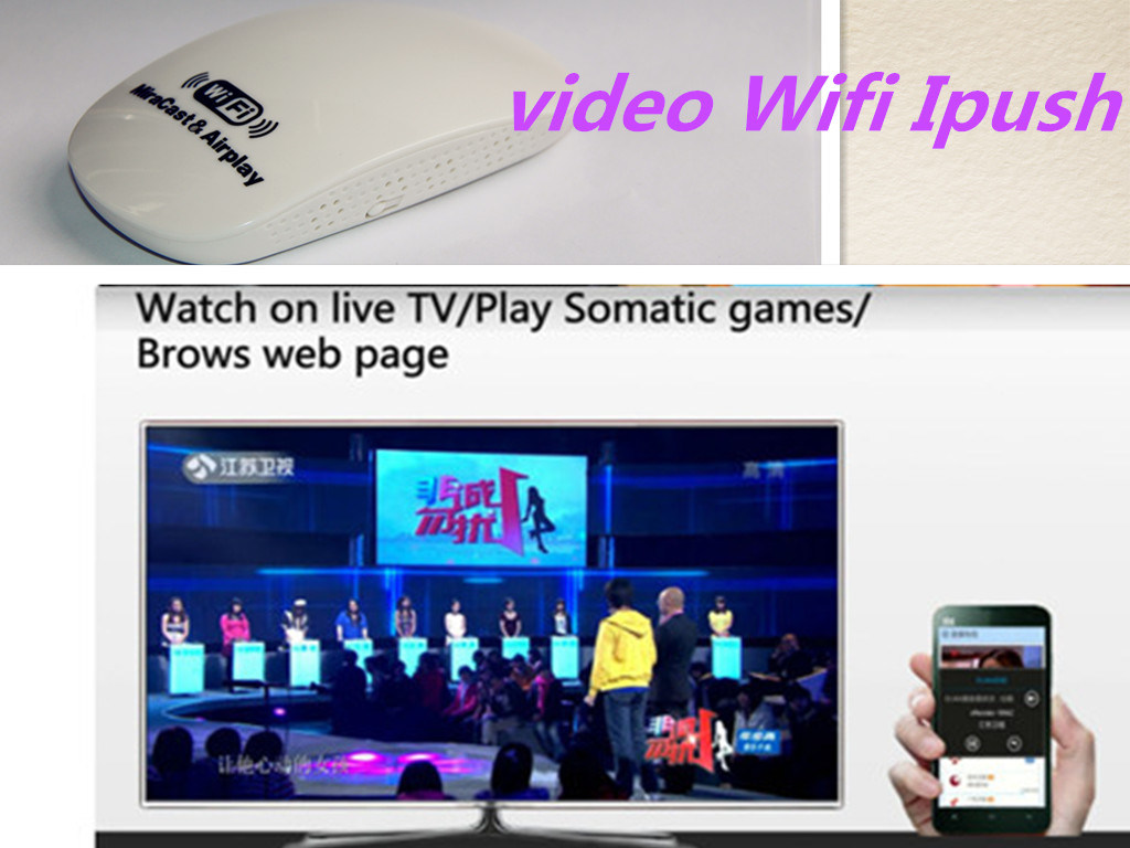 WiFi TV Dongle Receiver HDMI Wireless Ipush