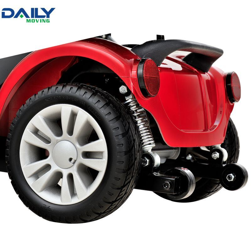 Mini 4 Wheels Electric Mobility Scooter with 250W Motor and 9 Inch Solid Tire