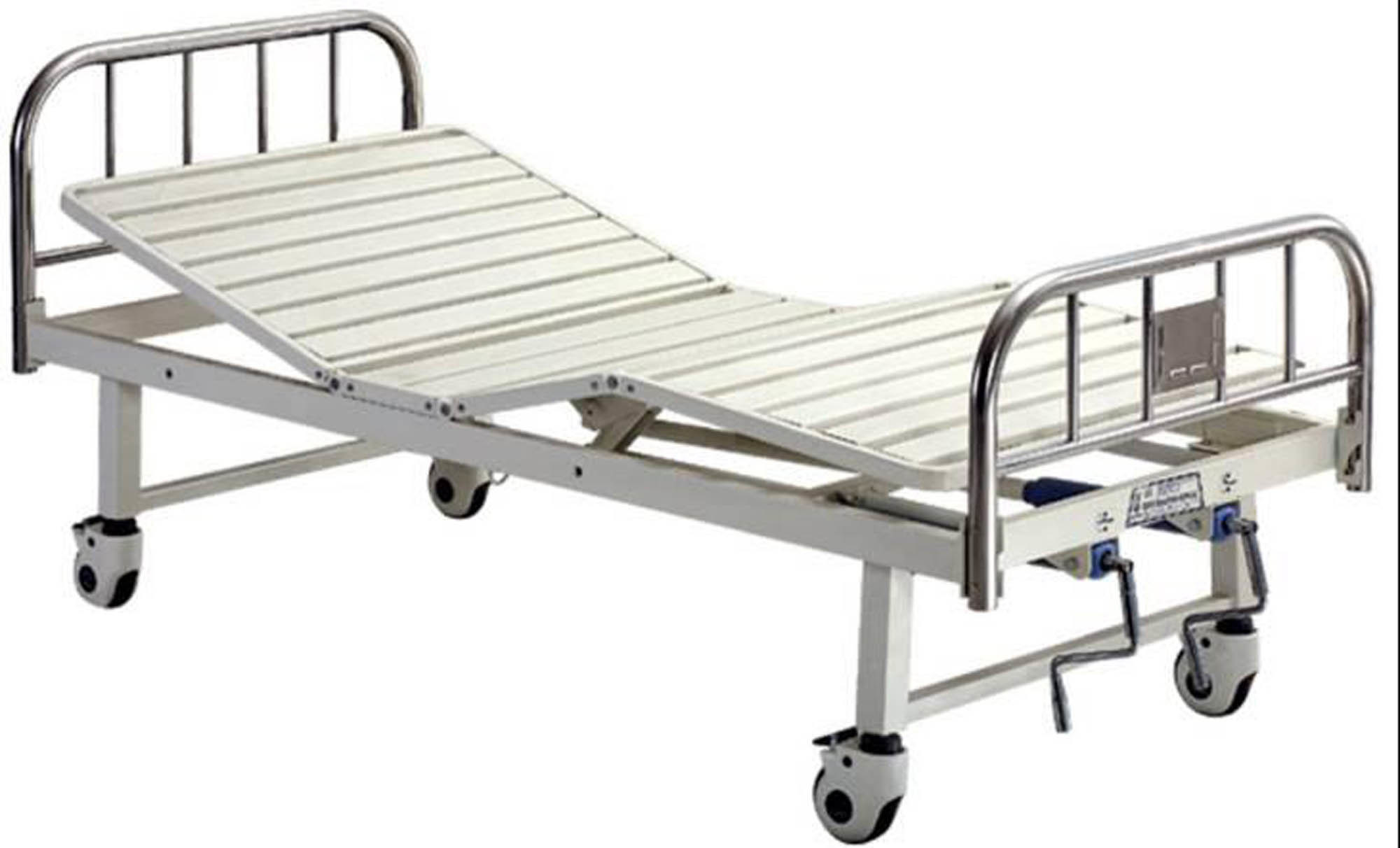 Hospital Furniture Movable Full Fowler Stainless Steel Head Boards Hospital  Bed