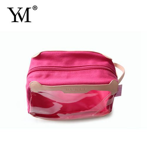 Lady Travel Clear Promotional Cosmetic Make up Woman Bag
