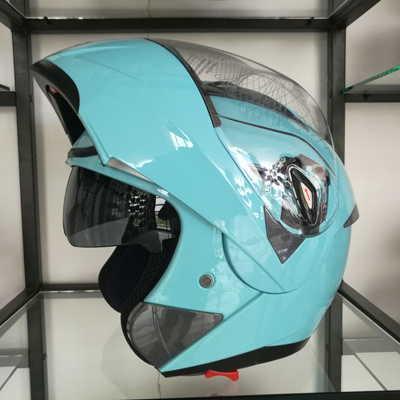 Factory Wholesale Cheap Price Double Visors Flip up Motorcycle Helmets