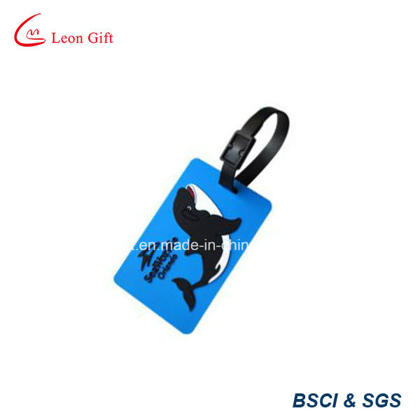 Customized Logo PVC Luggage Tag with Competitive Price