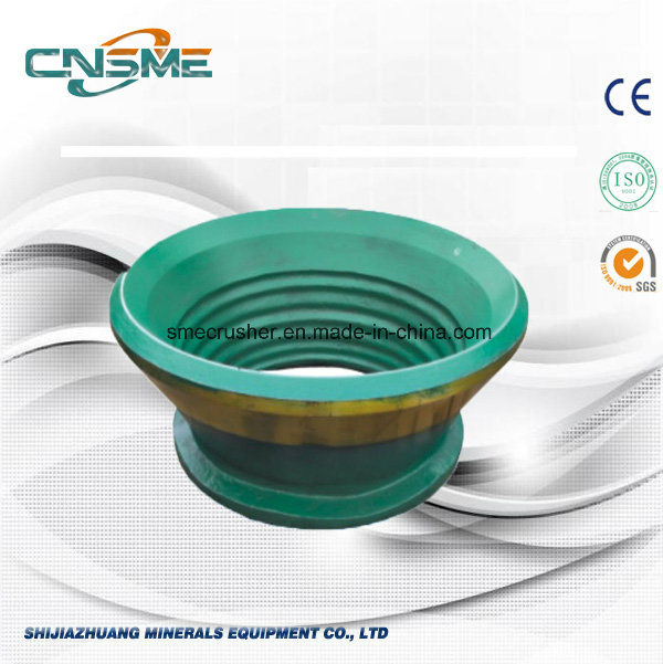 Concave and Mantle for Mining Machine, Cone Crusher Spare Parts