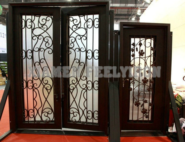 Iron Glass Door Italian Wrought Iron Glass Door Inserts For Modern Houses Wrought Iron Entry