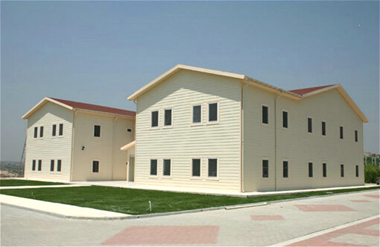 Prefab Light Steel Structure Separate Apartment Building (KXD-79)