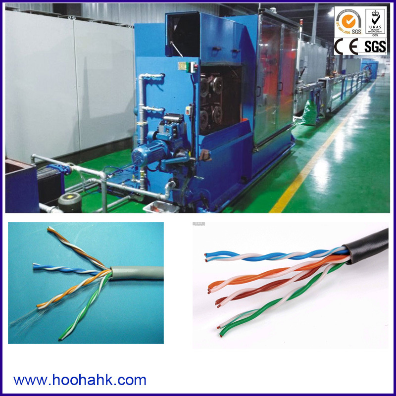 China Electronic Product Cat5 and CAT6 Cable Extruder - China Cat5 ...