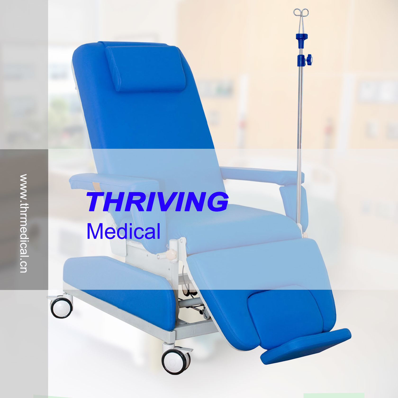 China Manual Hospital Dialysis Chair THR DC001 China Dialysis