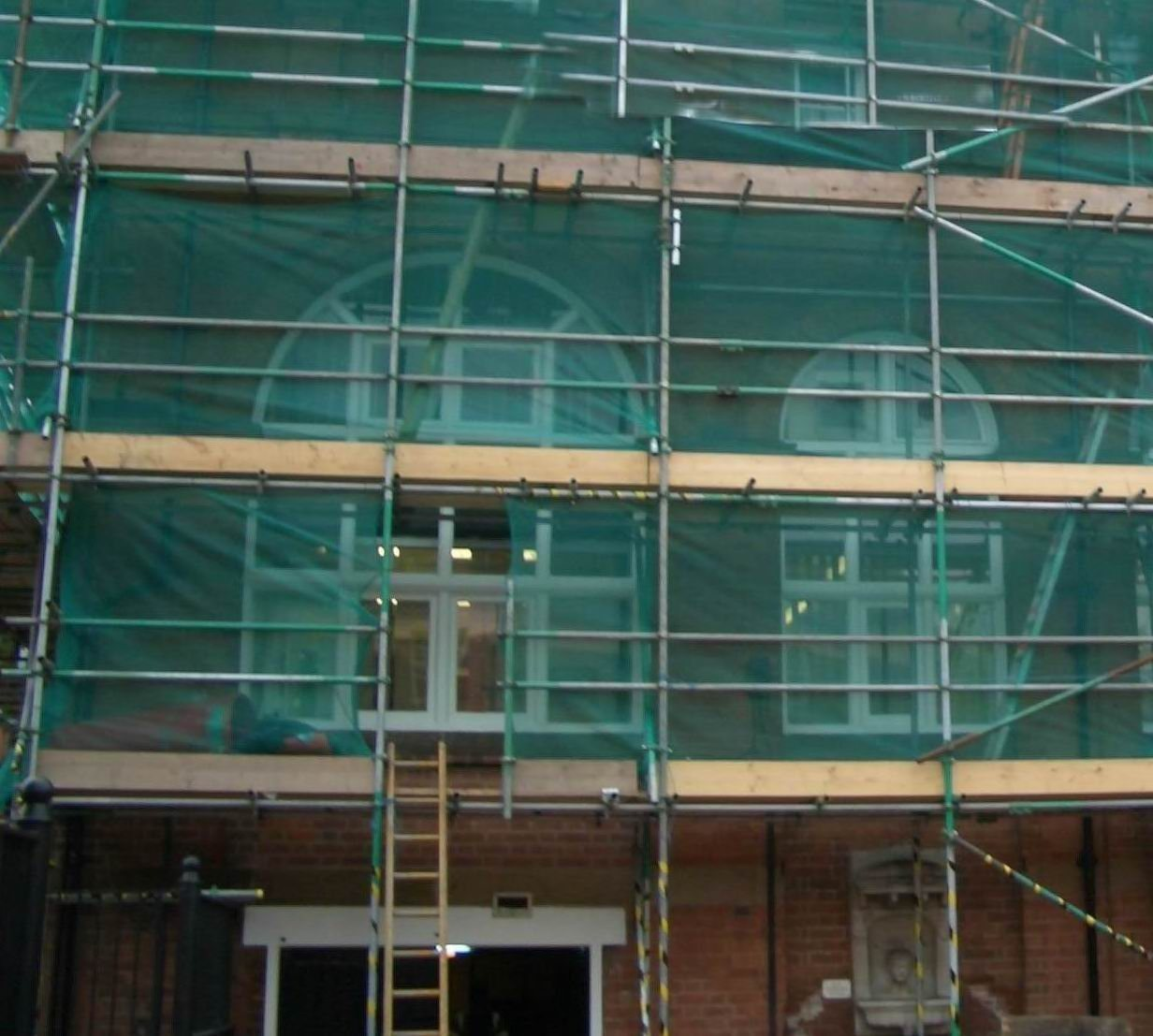 Use Scaffolding To Build A Stage