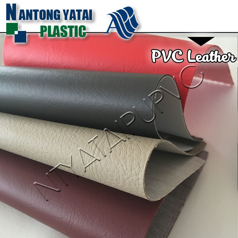 Durable PVC Synthetic Leather for Sofas, Chairs, Car Seat Cover with Good Lightfastness Property