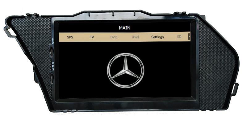 Car DVD Accessories for Benz Glk X204 Radio Navigation (HL-8809GB)
