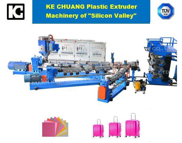 Luggage Sheet Extrusion Machine