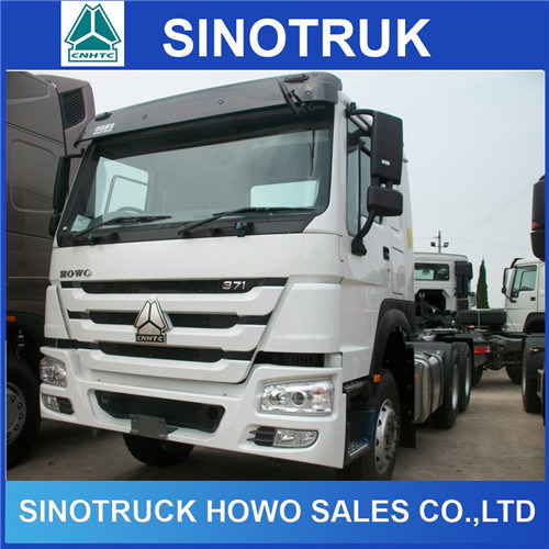 China 371HP Sinotruk HOWO Truck Head Tractor Truck for Trailer