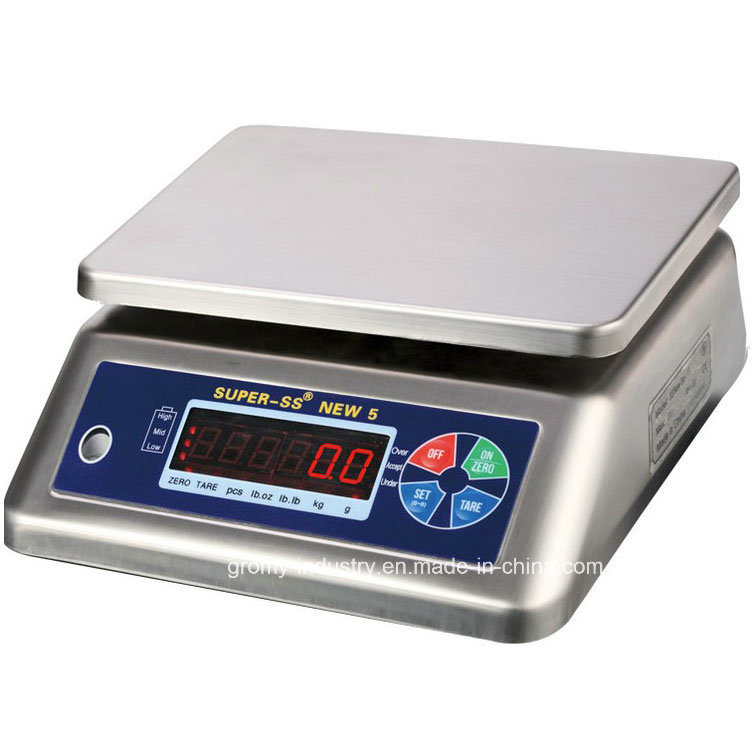 Stainless Steel IP68 Waterproof Digital Electronic Weighing Scale 30kg