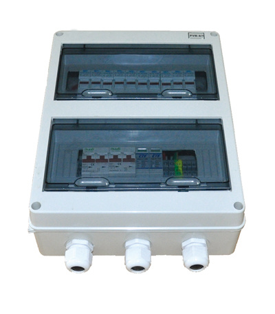 Economical Small PV Combiner Box with 4 in 1 out for 400V System