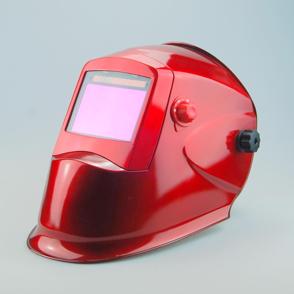 Auto Darkening Welding Helmet (WH8912 Red)