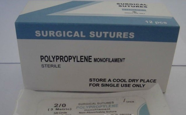 Polypropylene Surgical Suture with Needle