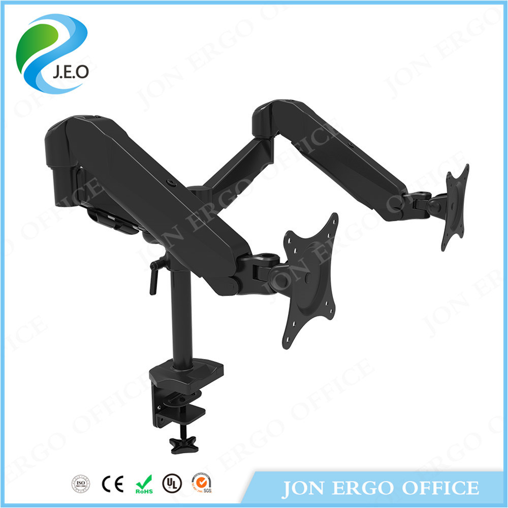 Dual-Screen LCD Monitor Mount for 15 to 27′′ Monitor (JN-DS324C)