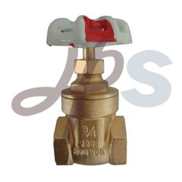Brass Gate Valve with Steel Wheel (HG22)
