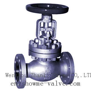 Cast/Carbon Steel API Bellows Seal Globe Valve Awj41h